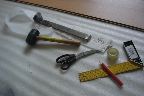 Минимум необходимых инструментов
