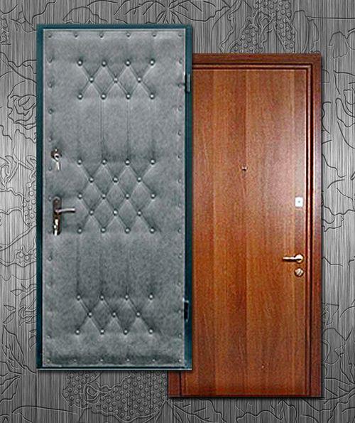 Отделка старой двери ламинатом своими руками