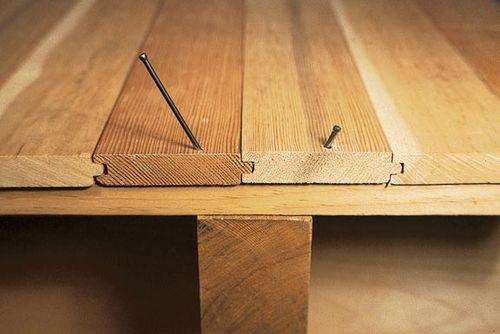 Кладем ламинат на деревянный пол