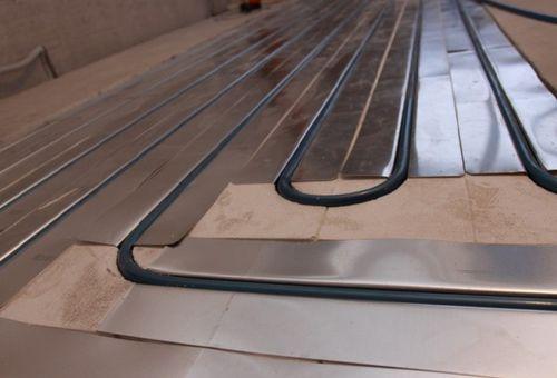Укладка теплого пола на деревянный пол
