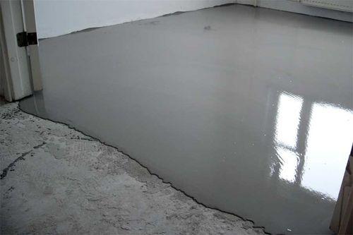 Наливной пол под ламинат